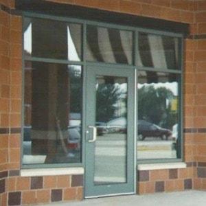 Aluminum Storefront Entry