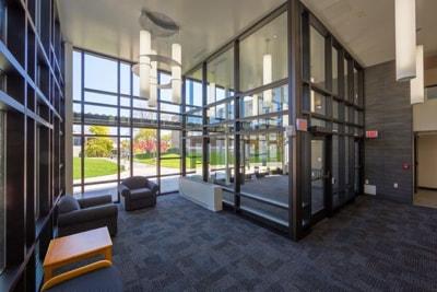Lobby Curtainwall